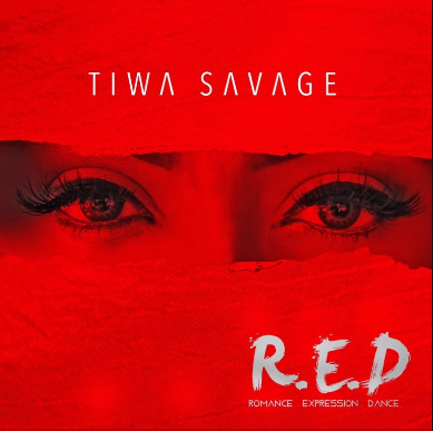 Tiwa Savage - RED Romance Expression Dance - CD