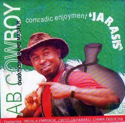 AB Cowboy - Comradic Gyration Jarasis - Video CD