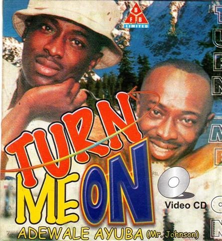 Adewale Ayuba - Turn Me On - Video CD