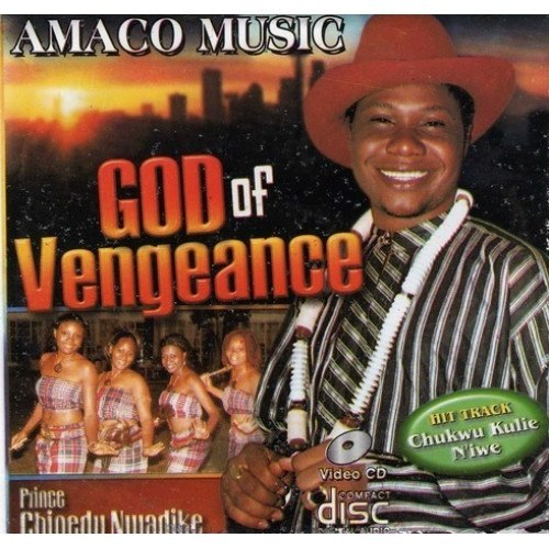 Chinedu Nwadike - God Of Vengeance - Video CD