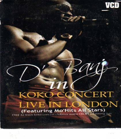 Dbanj - Koko Concert Live In London - Video CD