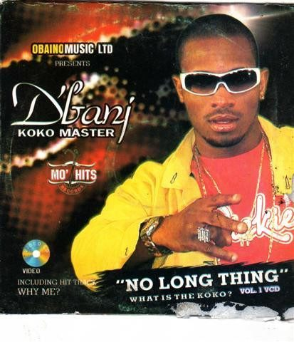Dbanj - No Long Thing - Video CD