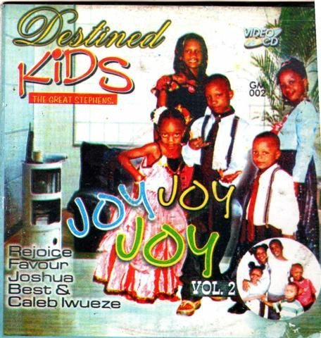 Destined Kids - Joy Joy Joy Vol 2 - Video CD