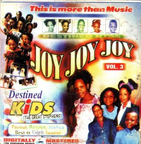 Destined Kids - Joy Joy Joy Vol 3 - Video CD