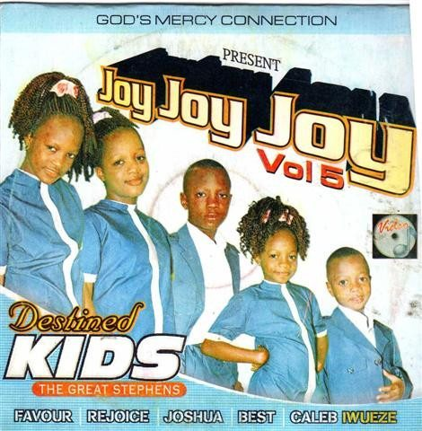 Destined Kids - Joy Joy Joy Vol 5 - Video CD