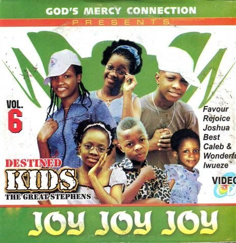 Destined Kids - Joy Joy Joy Vol 6 - Video CD
