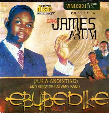Video CD - James Arum - Ebubedike - Video CD