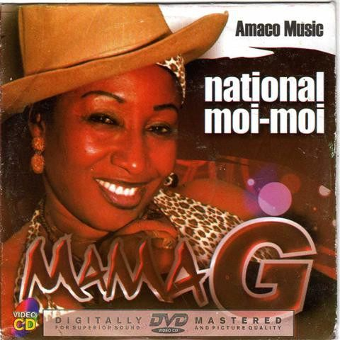 Mama G - National Moi Moi - Video CD