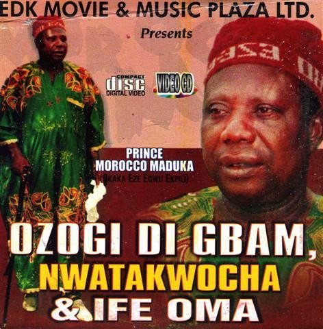 Morocco Maduka - Ozogi Di Gbam - Video CD