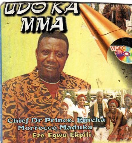 Morocco Maduka - Udo Ka Nma - Video CD