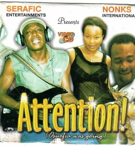 Video CD - Osuofia - Attention Osuofia Was Going - Video CD