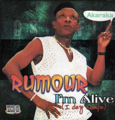 Osuofia - Rumour I'm Alive - Video CD