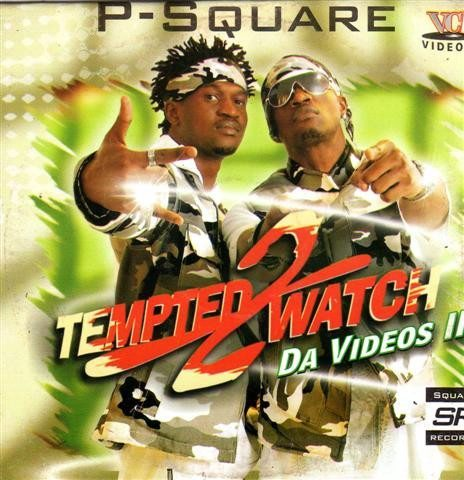 P Square - Tempted 2 Watch - Video CD