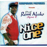Video CD - Remi Aluko - Nice One - Video CD