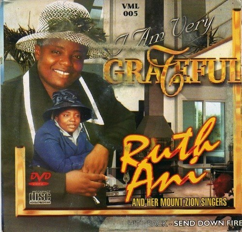 Ruth Ani - I Am Very Grateful - Video CD - African Music Buy