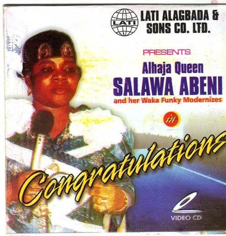 Salawa Abeni - Congratulations - Video CD