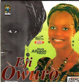 Shola Allyson - Eji Owuro - Video CD - African Music Buy