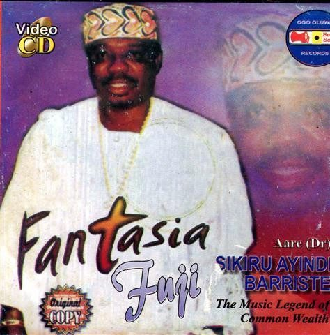 Sikiru Barrister - Fantasia Fuji - Video CD