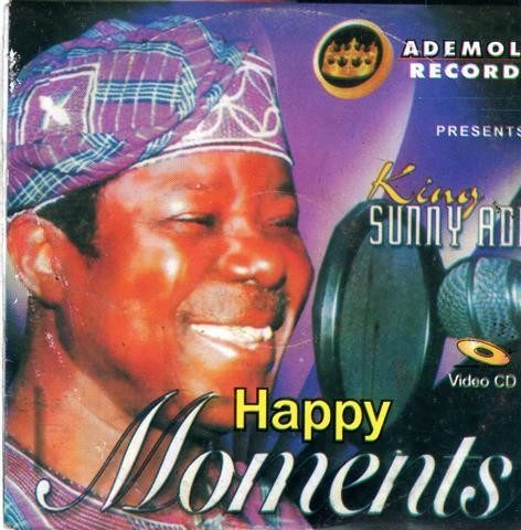 Video CD - Sunny Ade - Happy Moments - Video CD