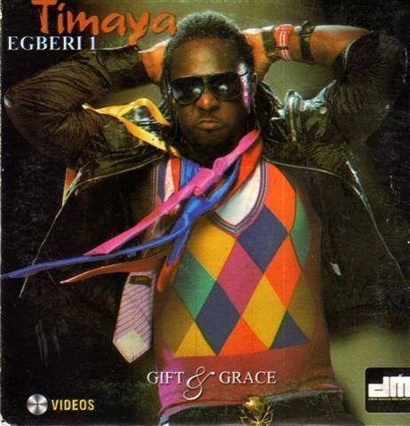 Timaya - Gift & Grace - Video CD