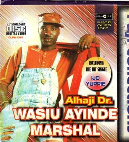 Video CD - Wasiu Ayinde Marshal - Fuji Collections - Video CD