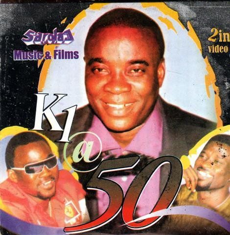 Video CD - Wasiu Ayinde Marshal - Kwam 1 At 50  - Video CD
