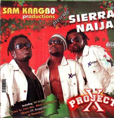 Video CD - X Project - Sierra Naija - Video CD