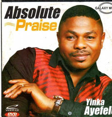 Video CD - Yinka Ayefele - Absolute Praise - Video CD