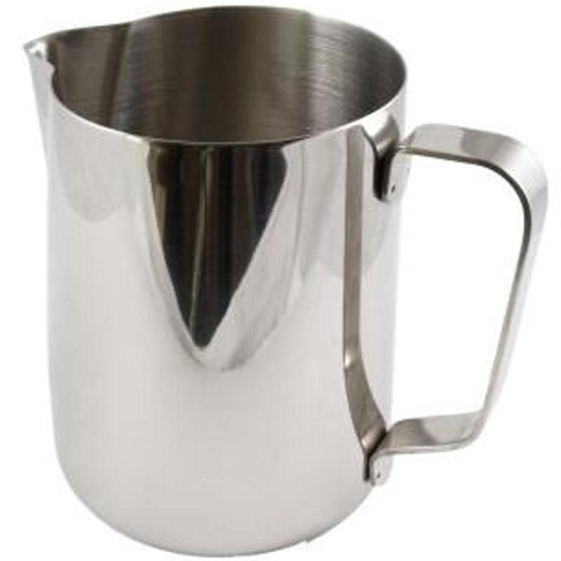 1000Ml / 1Ltr Milk Jug Silver Stainless Steel
