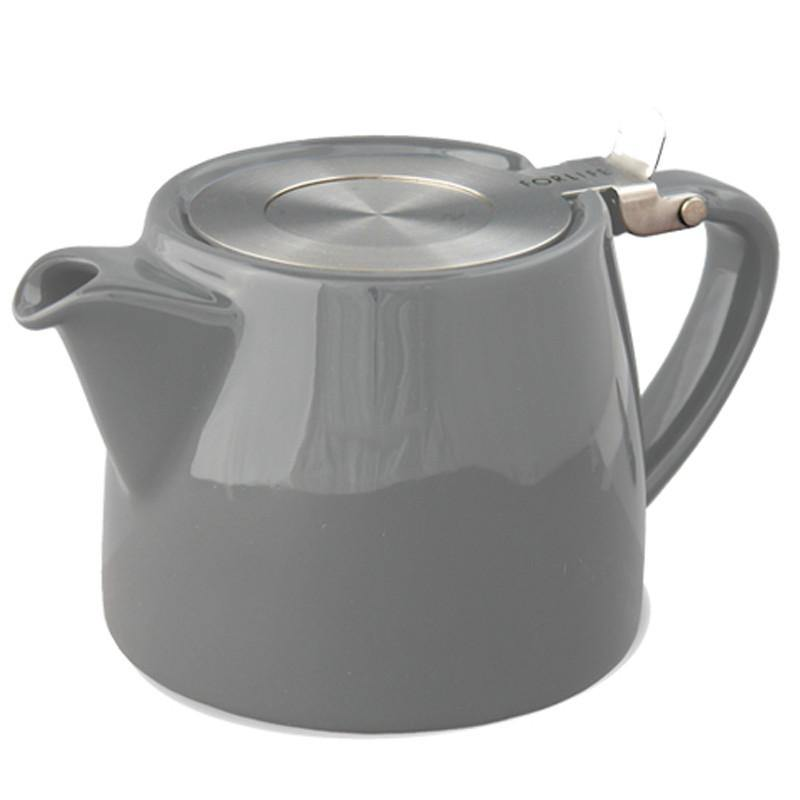 Forlife Stump Teapot Grey