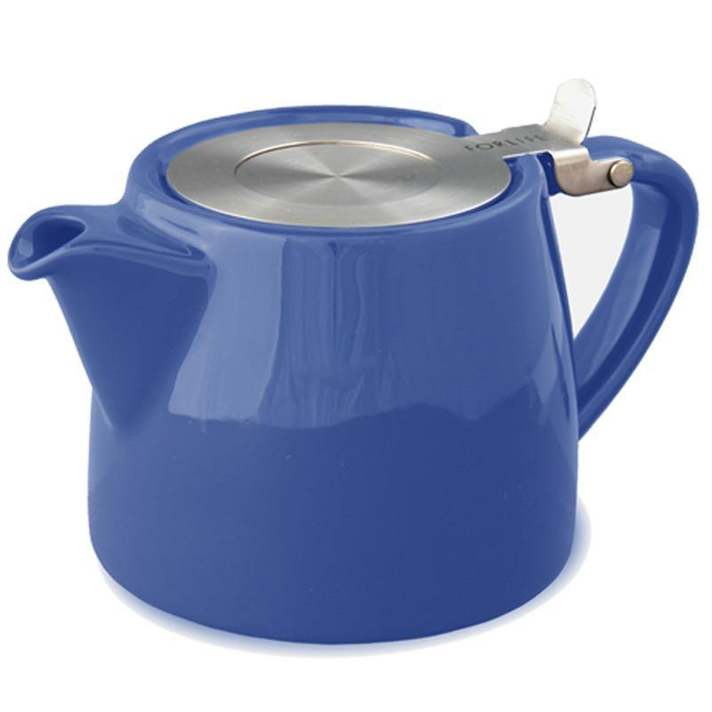 Forlife Stump Teapot Blue