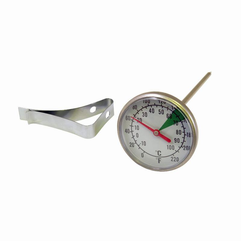 Motta Dual Dial Milk Thermometer