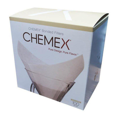 Chemex Square Paper Filters 100 Pack (Excl VAT)