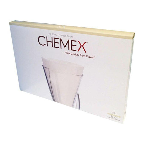 Chemex Half Moon Paper Filters 100 Pack (Excl VAT)