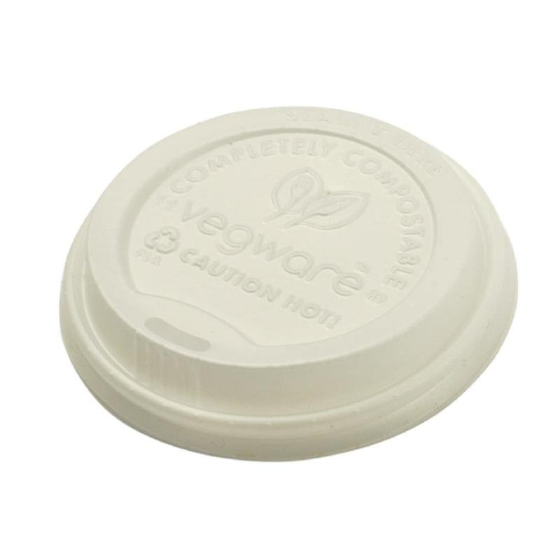 Vegware 12Oz Takeaway Lids Pack of 50 (Excl. VAT)