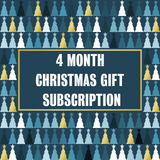 Christmas Gift Subscription - 4 Month