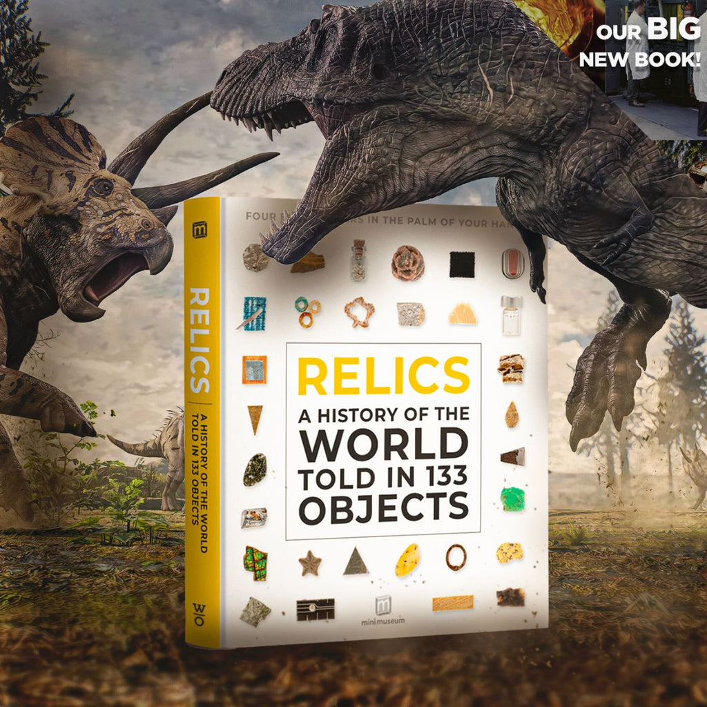 Our New Book, Mini Museum Relics!