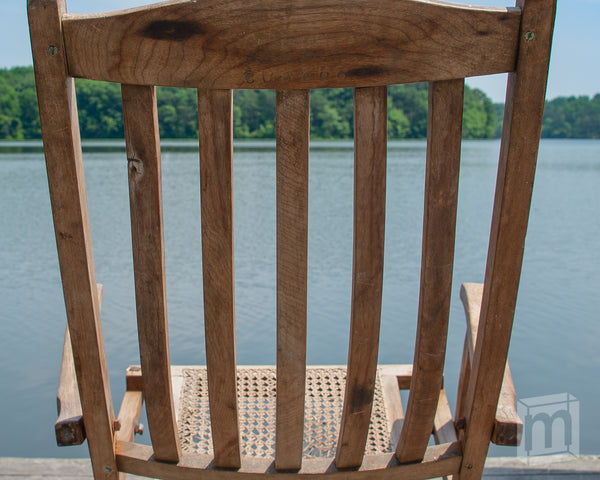 Lusitania Deck Chair Cross Section