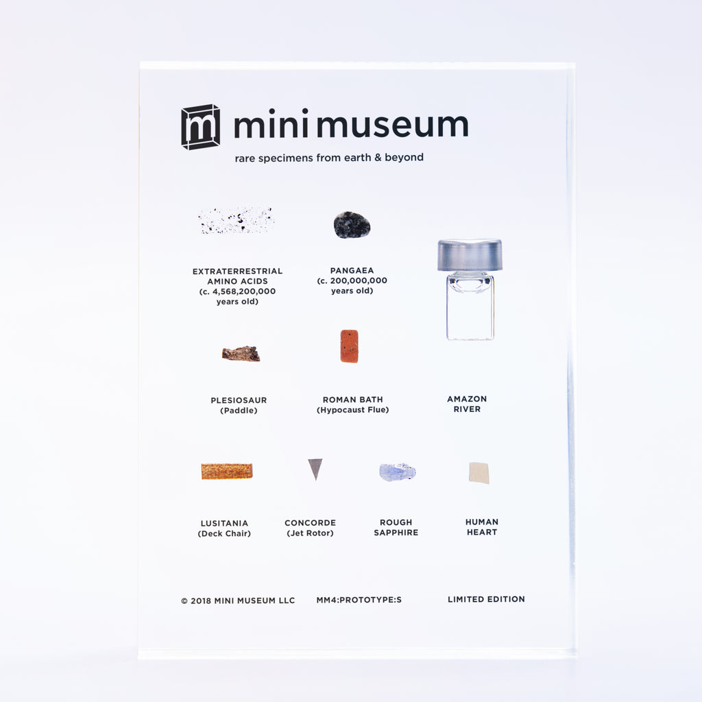Mini Museum - Fourth Edition (SMALL - 9 Specimens)