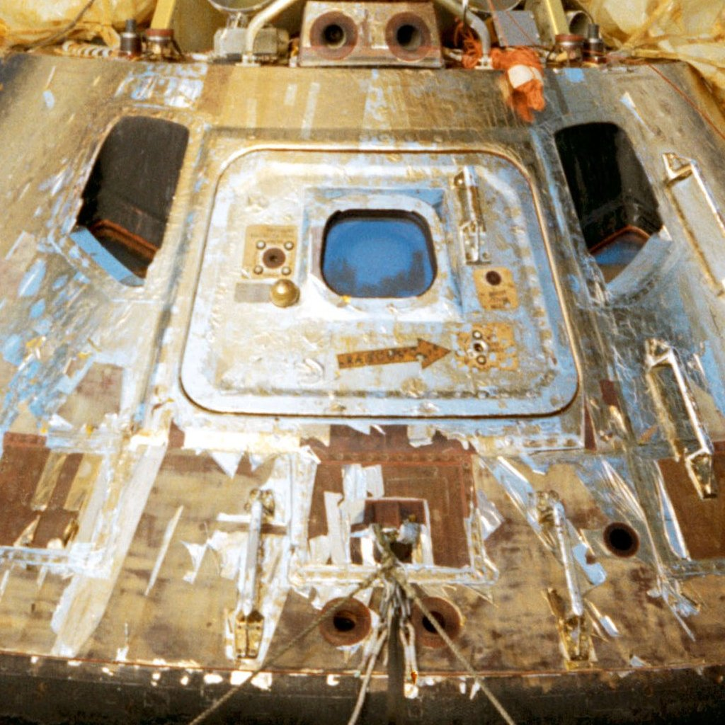 Apollo 11 Command Module Foil