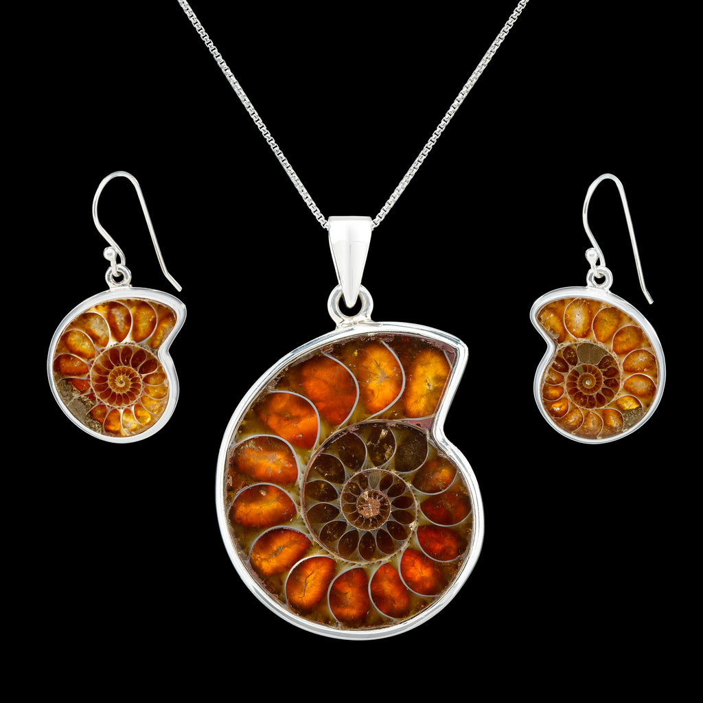 Ammonite Jewelry