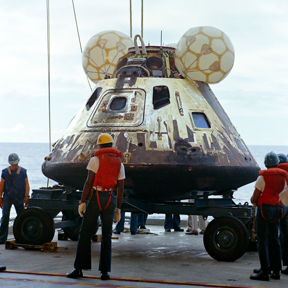 Apollo 13 Command Module Foil