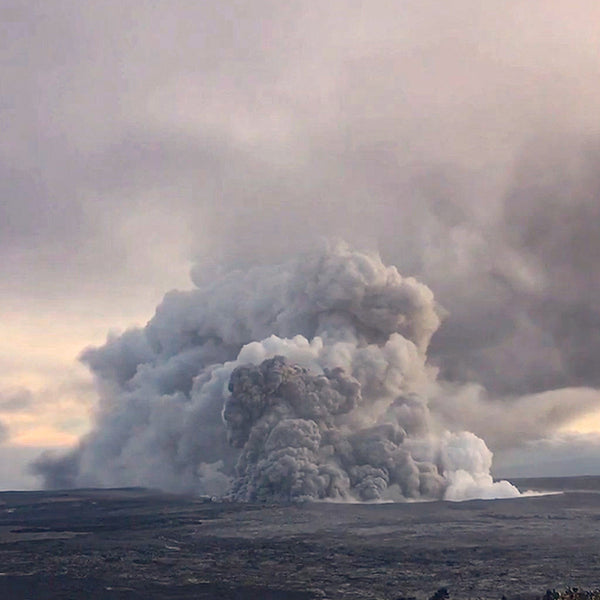 Mount Kīlauea Tephra - Breath of the Fire Goddess