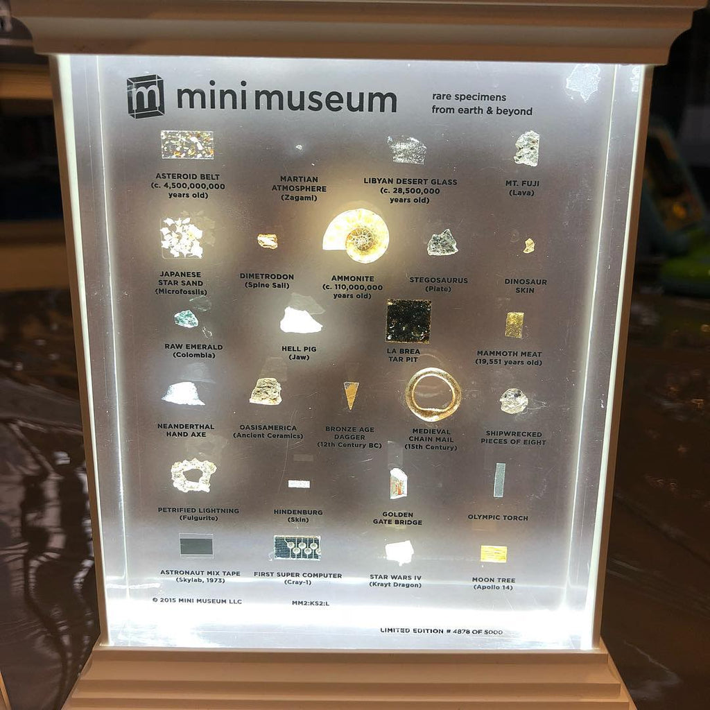 Mini Museum Illuminated LED Stand