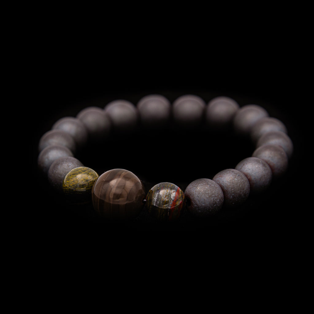 Early Life Stromatolite Bracelet