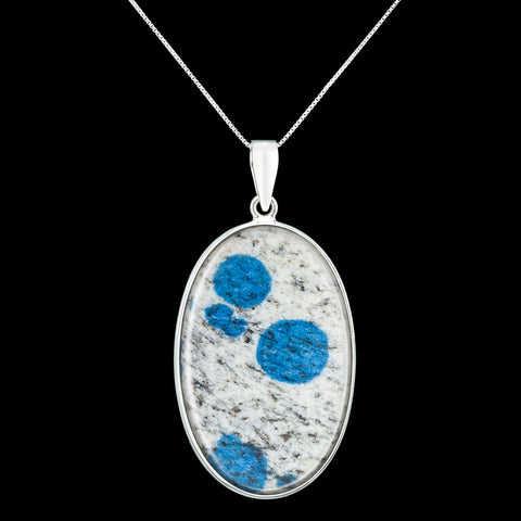 K2 Raindrop Granite Pendant Necklace