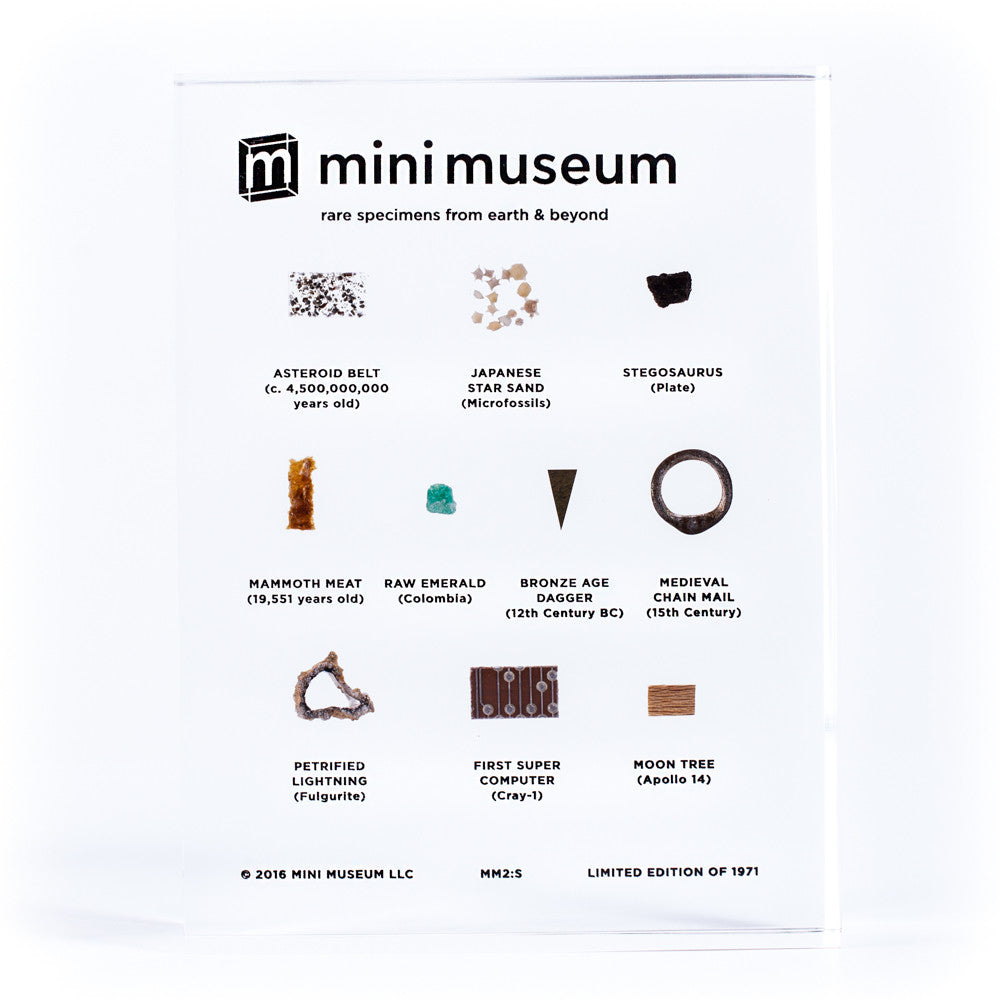 10 Specimen Second Edition Mini Museum