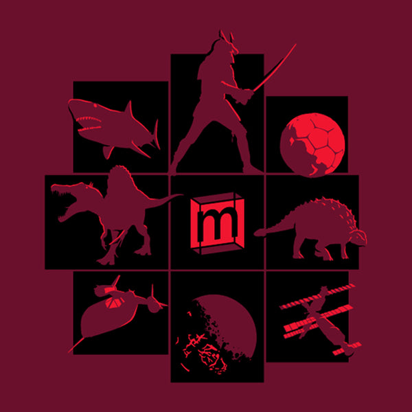 Mini Museum T-Shirt Third Edition (Maroon)