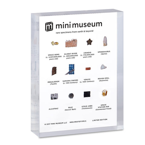 Mini Museum - Third Edition (SMALL - 12 Specimens)