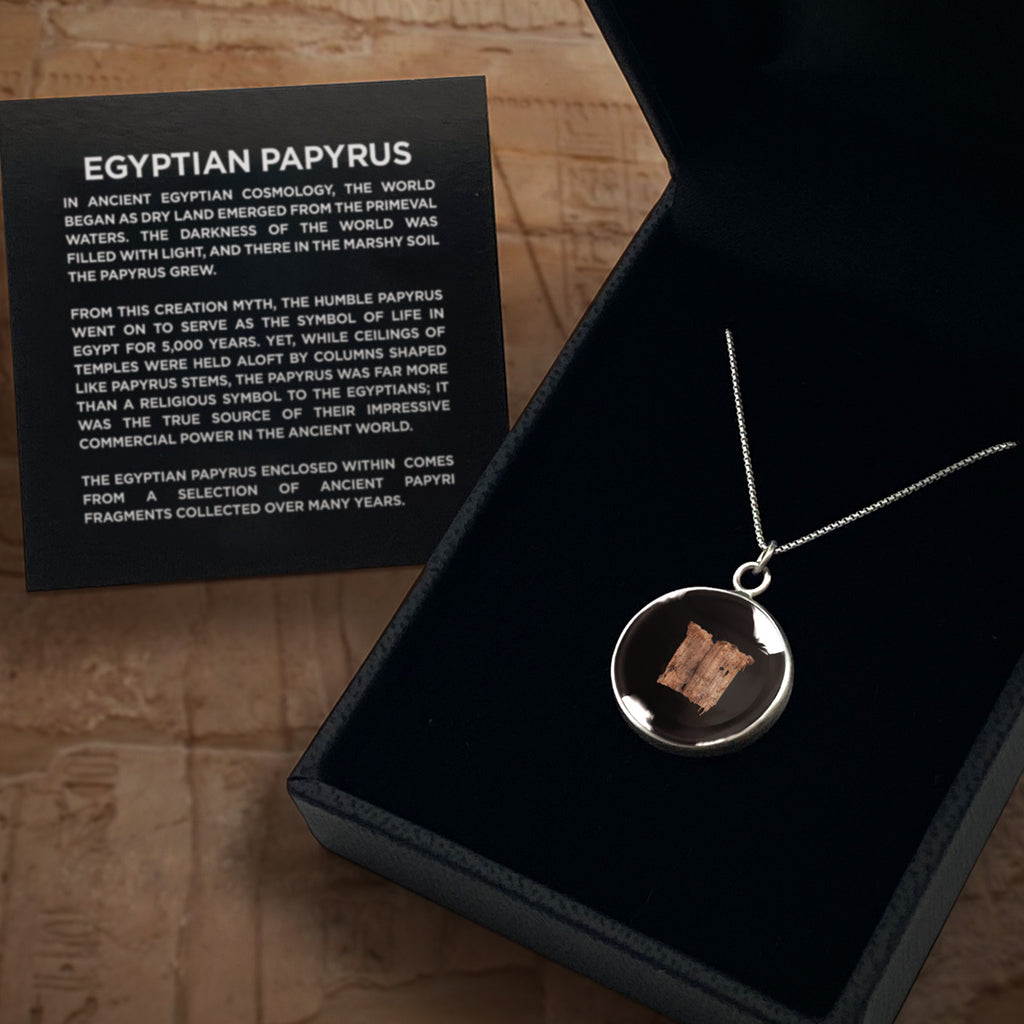 Egyptian Papyrus Pendant Necklace